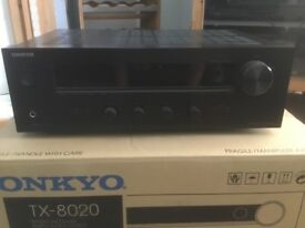 OnkyoTX 8020 amplifier /receiver.