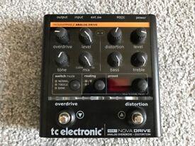 TC Electronic Nova Drive OD/Distortion Pedal