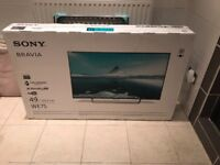 BRAND NEW SEALED SONY 49 INCH SMART HDR LED TV. LATEST MODEL. £410 NO OFFERS. CAN DELIVER