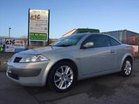 2004 RENAULT MEGANE DCI CONVERTIBLE *DIESEL* 1 OWNER FROM NEW **CAMBELT REPLACED**