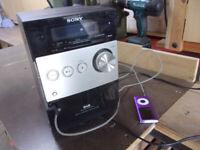 Sony DAB Micro HiFi Component system.