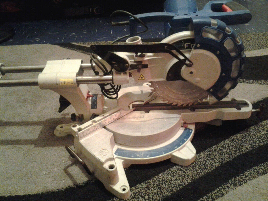 fox f36-258db double bevel mitre saw