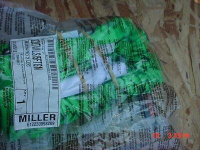 Miller 232twls5ftgn Shock Absorbing Lanyard 5 Ft 2- Leg 310 Lb Capacity Green