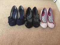 Ruby shop size 4 uk three pairs
