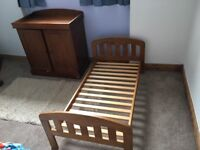 Cotbed and baby changer - John Lewis
