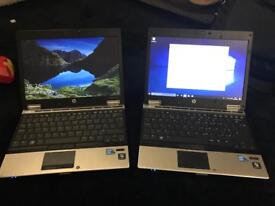 "Joblot of 2x Hp 2540p Core i7 laptop's 12.9"" Ultrabook Elitebook"
