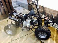 Quad bike Kazuma Falcon 90cc ATV Automatic BARGAIN
