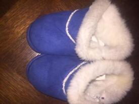 Boys fluffy slippers