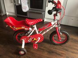 Kids Minnie Mouse bike