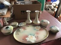 Vintage Royal Staffordshire Dressing table Set