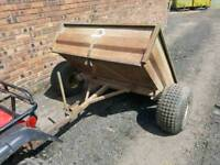 Swaledale 5x4 quad atv tipping trailer stables farm tractor