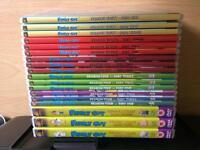 Family guy seasons 3 4 5 6 7 8 dvds