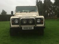 Long wheel Base Defender 110