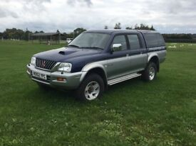 Mitsubishi L200. 2 Owners from new.