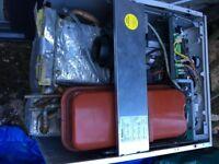 Worcester (Bosch) Greenstar Heatslave Floor standing oil fired combination boiler 12/18