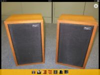 Pair of Rogers unmodified BBC LS5/3A 15ohm monitor speakers