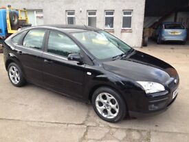 57 PLATE FORD FOCUS 1.8 STYLE 5DR 78000MILES FSH £2400