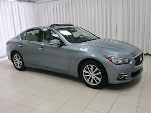 2014 Infiniti Q50 AWD. PERFORMANCE SEDAN LOADED WITH FEATURES !!