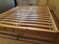 Bed Frame FJELLSE standard large 197x142 cm