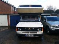 Ford transit motor home in liveable condition.