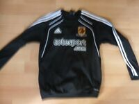 HULL CITY POLO SHIRT VERY GOOD CONDITION