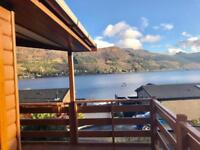✨LODGE OWNERSHIP OVERLOOKING STUNNING LOCH VIEWS✨
