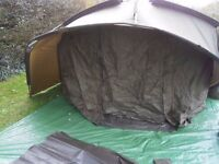 Nash Double Top Mk4 2 Man Bivvy - Only used once - Excellent Condition - £460 new