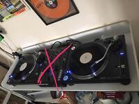 Pioneer PLX1000 DJ turntables