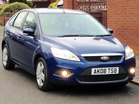 2008 FORD FOCUS STYLE 1.6 GENUINE LOW MILEAGE FULL YEARS MOT 3 MONTHS WARRANTY