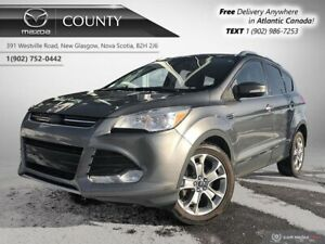 2014 Ford Escape $61/WK+TAX! TITANIUM! AWD! LEATHER! REVERSE CAM
