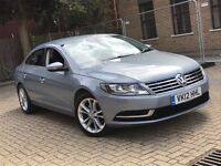 2012 VOLKSWAGEN CC 2.0 TDI CR 140 BMT DSG SALOON 5 SEATS LONG MOT SPACIOUS NOT PASSAT 5 SERIES