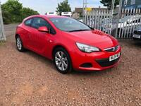 STUNNING VAUXHALL ASTRA 1.4 TURBO GTC SPORT - ONLY DONE 26K- AUTOMATIC GEARBOX- 6 MONTHS WARRANTY