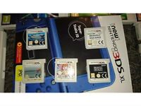 New 3ds xl with 5 games open to offers