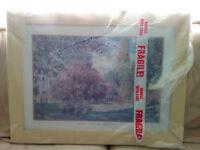 Parc Monceau Claude Monet Framed