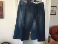 Two pairs of new jeans 34/32 Button fly and back pocket