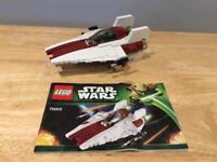 Lego Star Wars A Wing fighter 75003