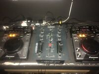 Pioneer cdj 400 with alen Heath mixer