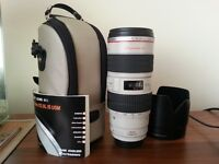 Canon 70 200 mm F2.8 IS L Series Mark 1 Lens