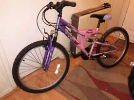 Bicycle Trojan Odessa. £35 ono Nice bike ladies/girls purple and pink