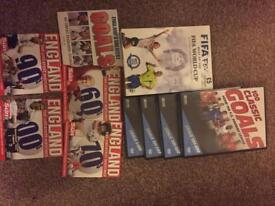 Fifa fever 100 years special football DVD's bundle football goals