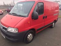 Fiat Ducato 11 2.0JTD 2005 Long MOT No Advisories good Condition like Ford Transit