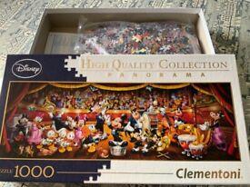 Jigsaw Puzzle - 1000pc Disney Panorama