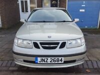 SAAB 9-5 AUTOMATIC 2.0 T VECTOR 5DR 2005 SILVER SPARES OR REPAIRS