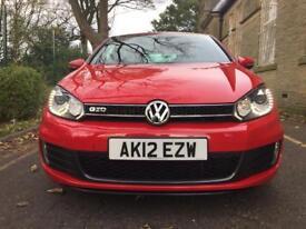 2012 VW GOLF GTD MK6 2.0 TDI (FVWSH DRL XENONS LOW MILES) not gti S3 fr amg msport x5