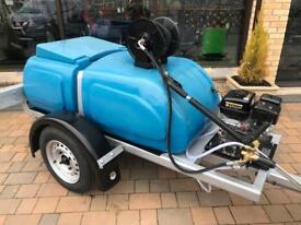 Pressure washer towed 500 liter