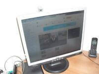 "Targa Visionary 19"" LCD 19-3 wide Monitor monitor with built in speakers"