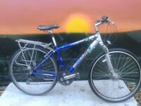 "Woodstock Reflex Hybrid Commuter Road 28"" Trekking Light Weight Aluminium Bike DISK"
