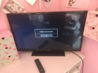 32 inch JMB tv, great condition, battery cover on remote missing.