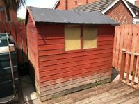 FREE Shed If Collected In A Week Due To Work Being Carried Out