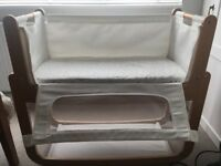 Snuzpod for sale. Includes mattress. Good condition.